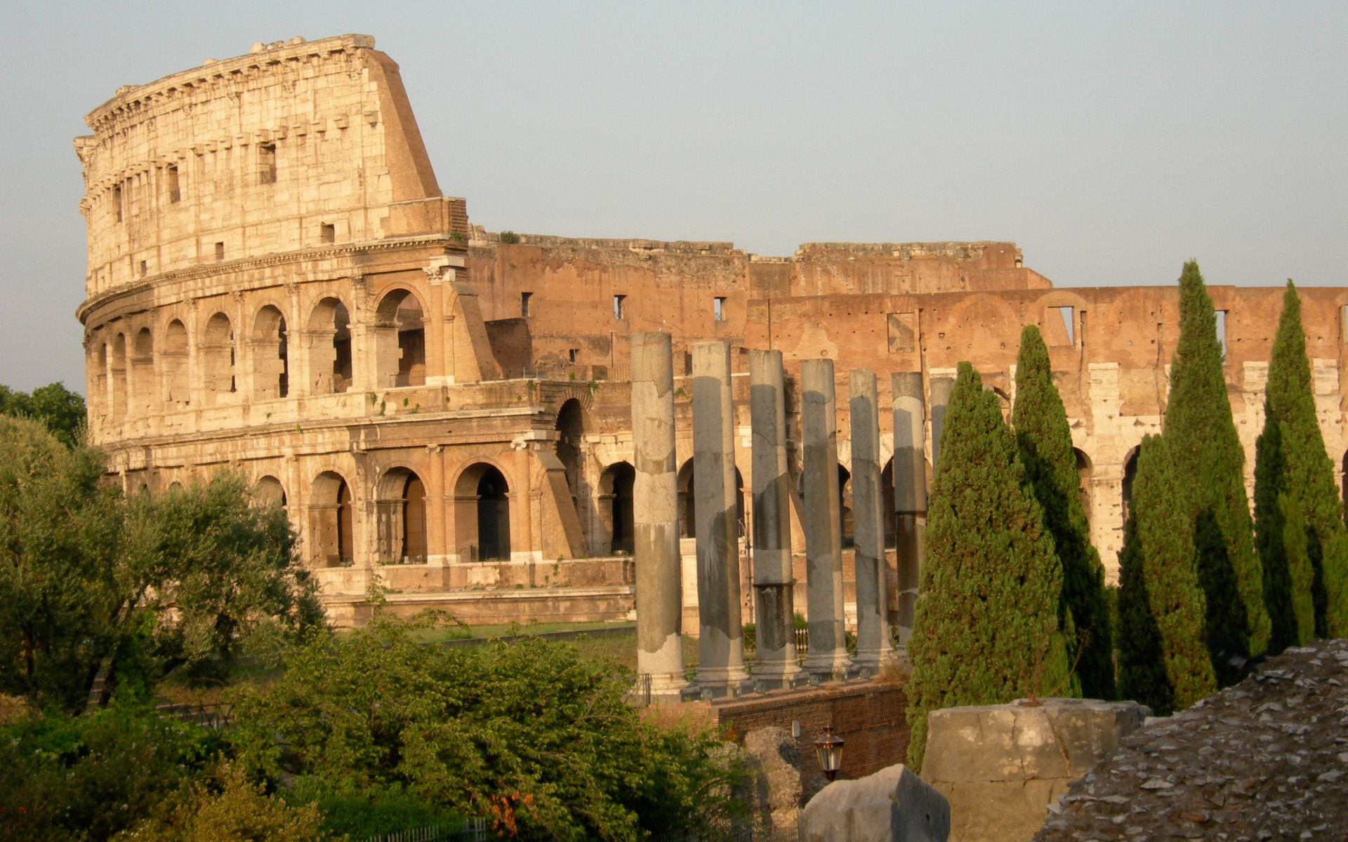 The Coliseum at Rome