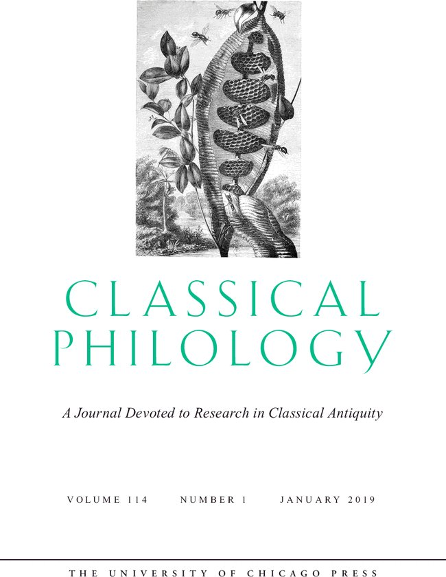 classical philology journal