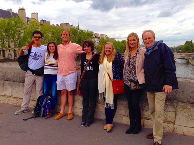 Sewanee Fall Semester in Paris 2015 Pont
