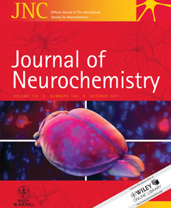 Journal of Neurochemistry Logo