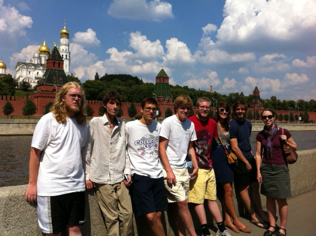 Sewanee Summer in Russia students