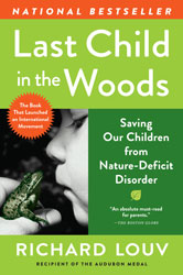 "Richard Louv: ""Connecting Children to Nature"" book cover"