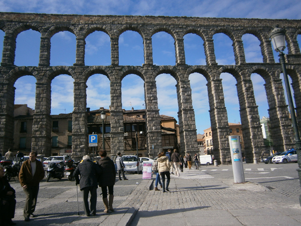 Segovia, a very old city
