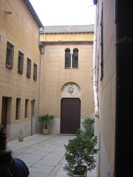 Entry to Synagogue