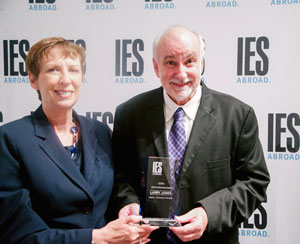 larry jones receives IES award