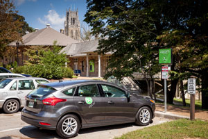 zipcar on sewanee campus