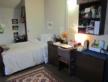 Johnson hall room interior