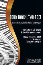 Faculty Recital - Bernadette Lo and Robert Delcamp