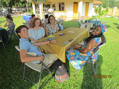 Sewanee students at the University of Ghana-Legon